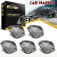 5xSmoke Roof Cab Marker Clearance Light Lens Covers For Ford F-450 99-16 Pickup