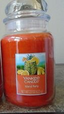 Yankee Candle Island Party 22 oz    NEW  Tropical Scent  ! Single Free Shipping