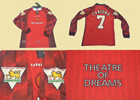 Manchester united 1996 1997 jersey shirt home long sleeve cantona premier