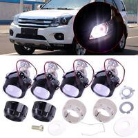 Car 2.5'' H1 Mini HID Beams Bi-xenon Projector Halo Lens Kit w/ Headlight Shroud
