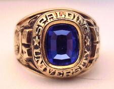 1995 Spalding University 10K Mans Class Ring, Stadium Style