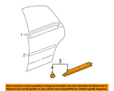 TOYOTA OEM Avalon Rear Door Body Side-Lower Molding Trim Right 75745AC020C0