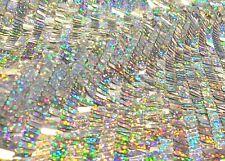 Pailletten Stoff Hologramm Glitzer Hochwertig Bekleidung Deko Fasching Karneval