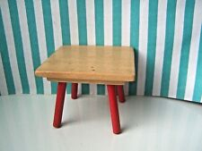 DOLLS HOUSE, TABLE, 16TH, TOFA, CZECH, DINING TABLE, WOOD, VINTAGE, A