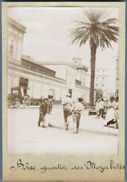Algérie, Bône (عنابة), Quartier des Mozabites  Vintage citrate print. Photo J. B