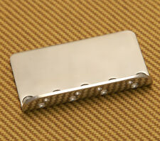 Fender Squier Affinity Bass Bridge Plate Chrome Finish BASSPLATE-SQ
