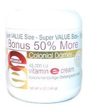 Colonial Dames 42,000 I.U. Vitamin E Cream 6oz 077837010397DT