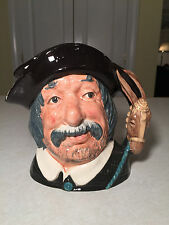 "Vintage 1956 ROYAL DOULTON Sancho Panca Large 7.5"" TOBY JUG/MUG #D6456 Quixote"