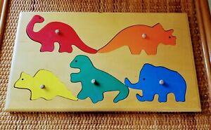 Wooden Knob Puzzle by Hollow Woodworks