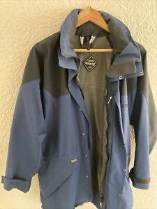 Mens Tog 24 Goretex Hooded Waterproof Jacket Hiking Trek Raincoat M