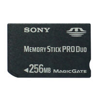 SONY 256MB Memory Stick Duo MS DUO Memory Card With MS Adapter For SONY Camera