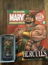 EAGLEMOSS  Classic Marvel Figurine Collection # 68 Hercules + Magazine