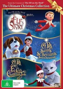 An Elfs Story - The Elf On The Shelf / Elf Pets - Santas St. Bernards Save Ch...