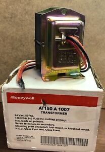 New Honeywell AT150A1007 Transformer Universal Mount Foot, Plate or Knockout