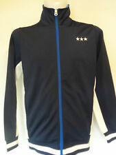 PELE NAVY AND CREAM JACKET BY PELE SPORTS SIZE ADULT SMALL BRAND NEW WITH TAGS