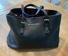 Genuine Black leather Michael Kors - With wear and tear
