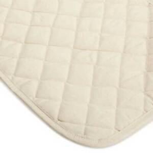 Natural Cotton Top Crib Pad