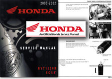Honda VTR1000 SP1 RVT1000R RC51 Service Workshop Repair Shop Manual VTR RVT RC51