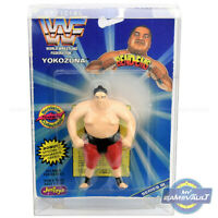 WWF Bend Ems Protector DISPLAY CASE x 5 for Figures 0.5mm Plastic Protective Box
