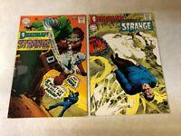 STRANGE ADVENTURES #212,213 NEAL ADAMS early DEADMAN Key issues 1968