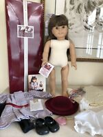 Samantha White Body American Girl Doll 1986 in BOX Pleasant Company! EXCELLENT!