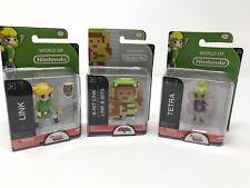 Nintendo World Zelda 8-BIT LINK Toon Link & Tetra Series 1-4 1-5