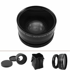 2 in 1 58mm Digital Video Conversion 0.45X Super Wide Angle Lens For Sony Nikon