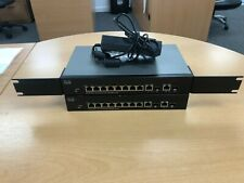 X2 CISCO SF302-08PP-K9 JOB LOT BUNDLE 2 SWITCHES 1 POWER SUPPLY 10/100 PoE+