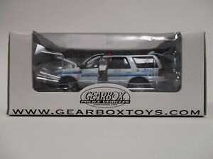 GEARBOX TOYS POLICE VEHICLE 1:43 SCOTTSDALE ARIZONA K-9 FORD EXPEDITION DIE-CAST