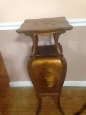 Very Rare Nice Painted French Pedestal. Plant Stand 1890s