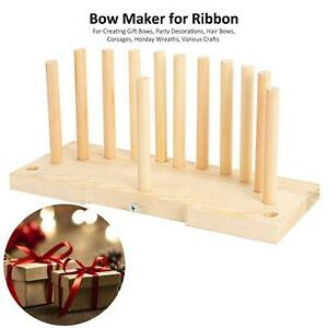 Handmade Bow Maker Tool for Scrapbooking, Hair Bows, Card Making & Many Crafts