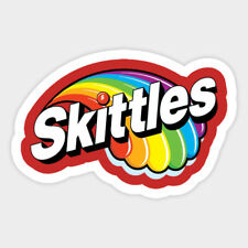 Skittles Color Rainbow Candy Vinyl Wall Decal Decor Sticker Meme Quote