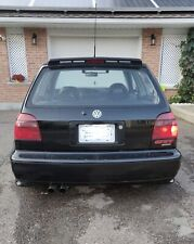 SACEX/EUROSTOP Rubber Roof Spoiler VW Golf MK3, Awesome Quality And Fitment.