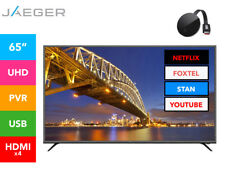 "JAEGER 65"" 4K UHD LED TV w/ Google Chromecast Ultra"