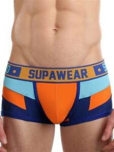 Supawear Spectrum Trunk Underwear Blazing Orange Undies Underpants Undergarment
