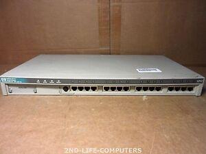 HP J2611A 10BT 16-PORT 10Base-T Ethernet ADVANCESTACK HUB 16U