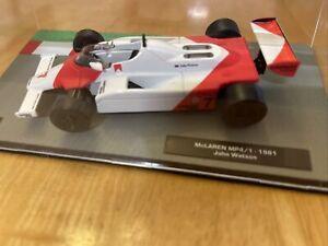 Formula 1 The Car Collection McLaren as Driven by John Watson Item 104
