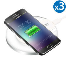 3x Wireless Charger Pad Charging Dock for iPhone X/8/8 Plus Galaxy S9/S8+/Note 8