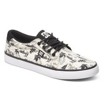Scarpe Uomo Skate DC Council SP Nero Bianco Hawaii Chaussures Zapatos Schuhe