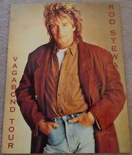 Rod Stewart - 1991 Vagabond Tour programme