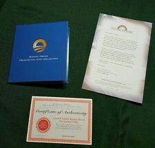 BARACK OBAMA PRESIDENTIAL COIN COLLECTION ♢ WITH 4 CERTIFICATE OF AUTHENTICITY