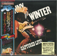 JOHNNY WINTER-CAPTURED LIVE!-JAPAN MINI LP CD Ltd/Ed D99