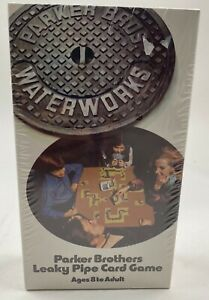 Vintage WaterWorks Card Game Parker Brothers Leaky Pipe Retro 1972 USA