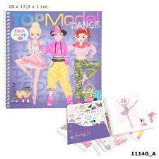 TOP MODEL 11140 DRESS ME UP DANCE BUCH MALEN STICKERN STYLEN DEPESCHE NEU