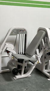 Nautilus Leg Extension Quad Exercise Machine Free Weight Stack System