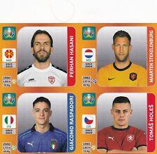 Panini Euro EM Tournament Edition Update Set Sticker Hasani | Raspadori | Holes