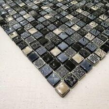 Italian Design Arctic Vintage Blue Mosaic Tiles Walls Floors Bathrooms