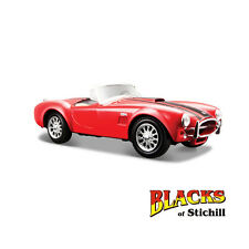 Maisto 1:24 Scale 1965 Shelby AC Cobra 427 cu in Red Diecast Model Car