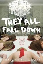 They All Fall Down by Roxanne St.Claire (2014, Hardcover w/Glossy Dust Jacket)