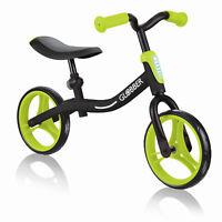 Globber GO BIKE Adjustable Balance Training Bike for Toddlers, Black & Green